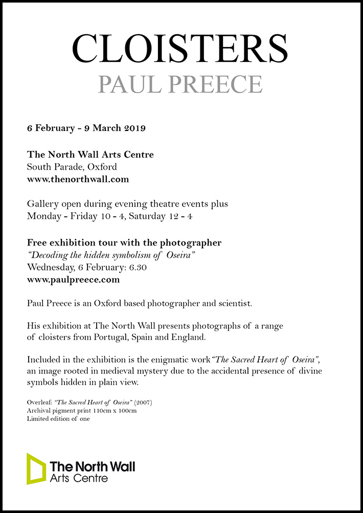 Photography Exhibition, The North Wall, Oxford 2019